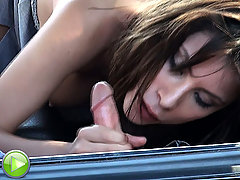 Public parking car sexcapades voyeur video #3