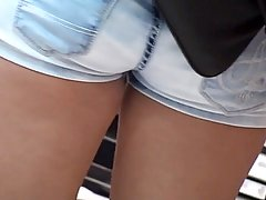 Hot accidental upskirt hq video voyeur video #1