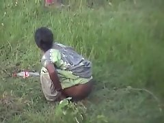 indian villager caught on cam while having pee voyeur video #1
