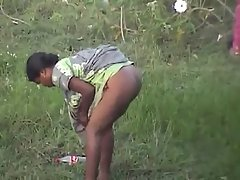 indian villager caught on cam while having pee voyeur video #2