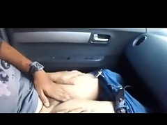 college couple from delhi in car playing with each other voyeur video #2