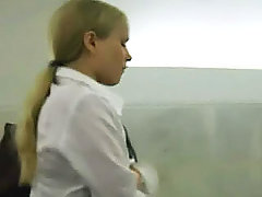 We've got huge collection of the wettest and nastiest girl's upskirts voyeur video #3