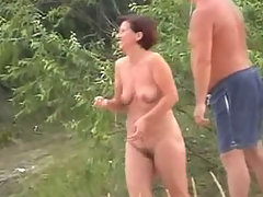 Horny male admiring amazing stripped bodies of the sexy frisky females voyeur video #4