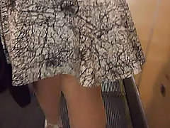 Summer forced all girls to wear short skirts and dresses and it is great chance to us to dive under their skirts voyeur video #2