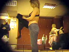 Your voyeur dreams come true. Real Locker Room Voyeur Video voyeur video #4